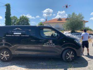 nettoyage tuile drone bordeaux